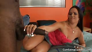 Ally Style Enjoys Black Dick With Her Cuckold Husband