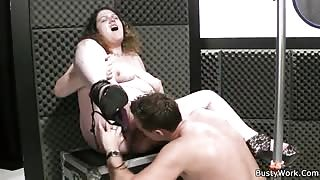 Fat singer sucks and fucks cock