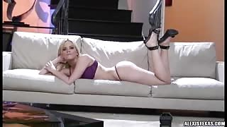 Alexis Texas lingerie video
