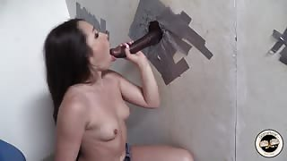 Lola Foxx gloryhole sex