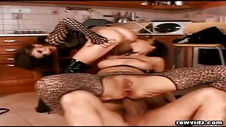 Nasty Threesome Sex Slaves video