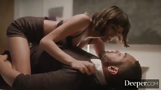 DEEPER Janice Griffith erotic office fuck