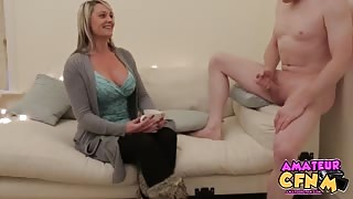 MILF Mesmerized By Cock