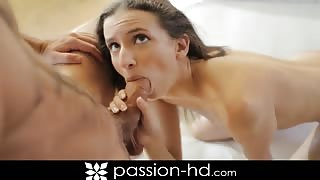 Belle Knox bald pussy fucked for Passion-HD