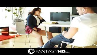 FantasyHD with schoolgirl Morgan Lee