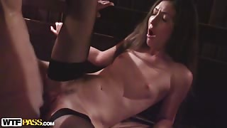 Real adult sex with a cock-hungry babe