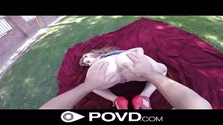 Anya Olsen POVD fucking video