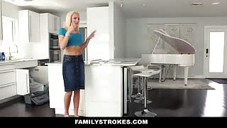 Family Strokes with Tiffany Watson fucked by cousin