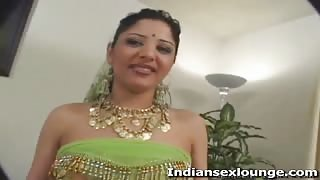 Indian woman shows her pussy