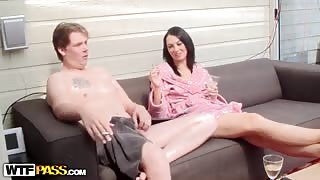 Sex toys and anal fuck in home video