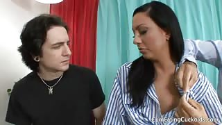 Tiffany Brookes and Her Hubby Love Sharing a Cock
