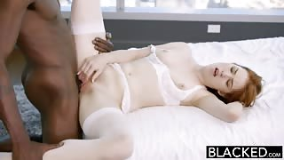 BLACKED Gwen Stark has her pale pussy fucked