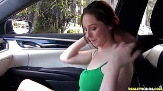 Autumn is waiting for her boyfriend while Jmac spotted plump ass and titties. Cash and being upset with her boy persuades her to go on an adventure. Autumn sucks and fucks her anxiety out  gives Jmac his moneys worth  and takes a shot to the chin.