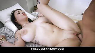 Gabbie Carter has her tight pussy fucked