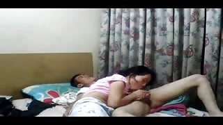 Nepali Girlfriend in homemade sex video