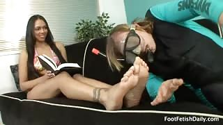 Bethany Benz Has Her Tasty Toes and Feet Worshipped